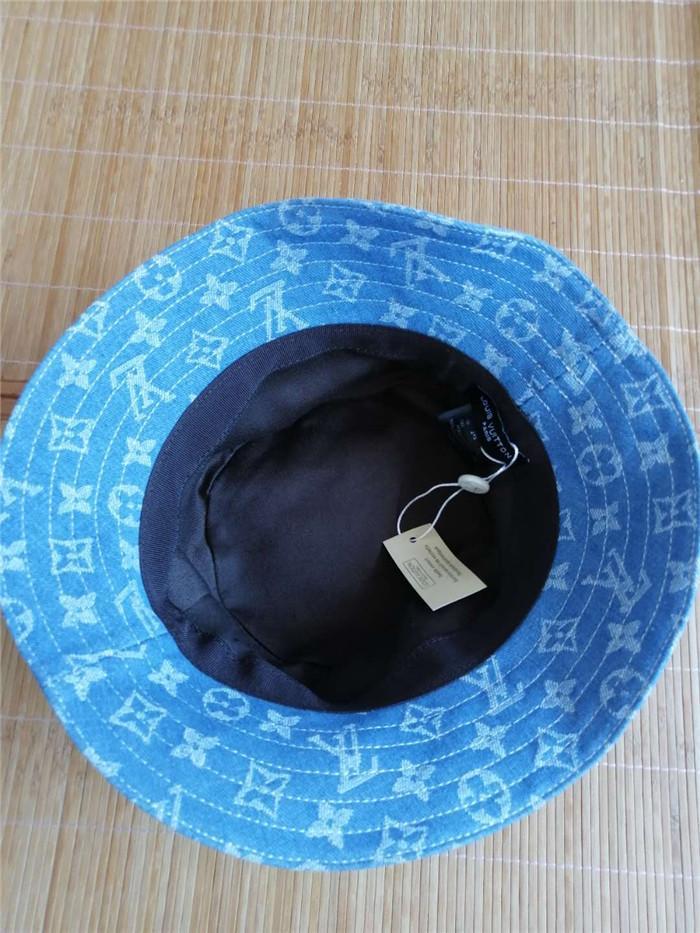 جودة عالية والجلود الفاخرة إلكتروني دلو قبعة عندما لا يزال لطي قبعة صياد الأزرق مبيعات الشاطئ قناع للطي قبعة سوداء مستديرة