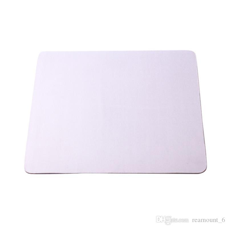 Promosyon Toptan Özelleştirilmiş Mouse Pad Boş Mousepad Sublime Isı transferi için DIY Tasarım Bilgisayar Pad Özçekim Sopa ücretsiz kargo