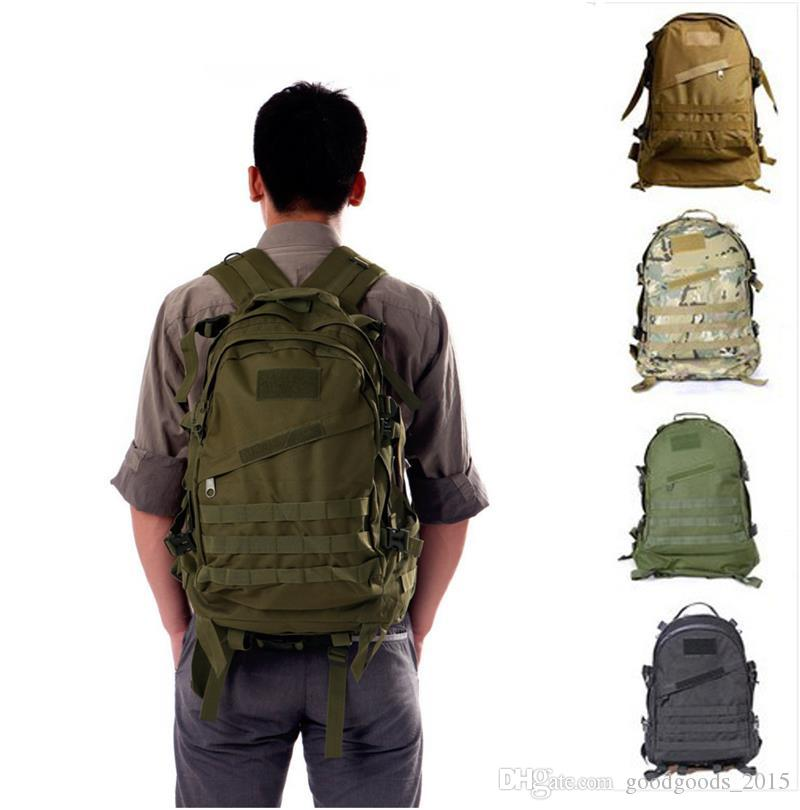 3D Outdoor Sport Military Tactical climbing mountaineering Backpack Camping Hiking Trekking Rucksack Travel outdoor Bag DLH108