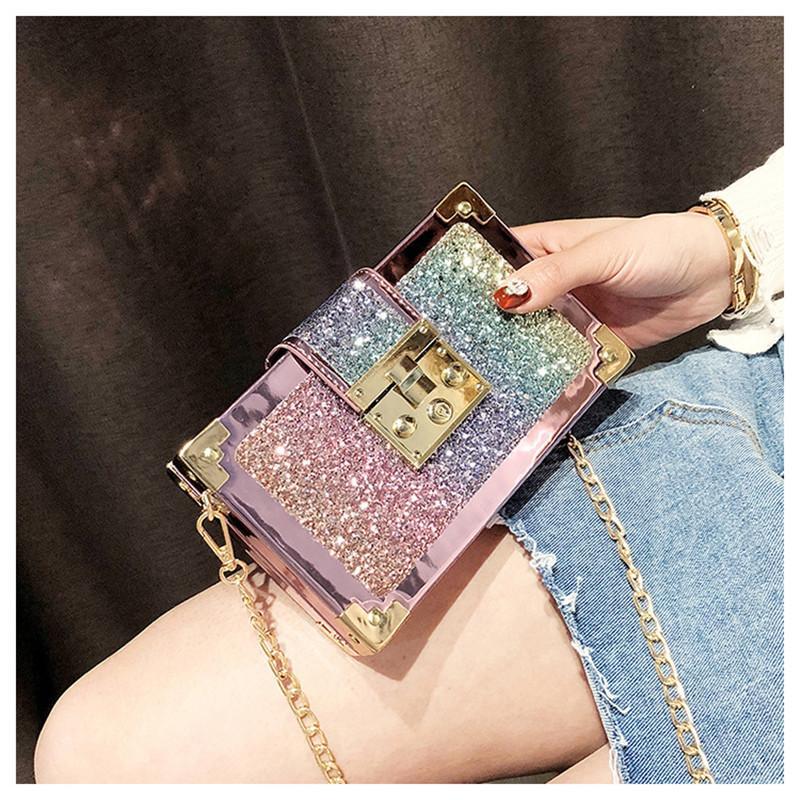 Box Vintage Forma Borse Crossbody per le donne 2020 New Small Flap Borse femminile Donne Borse Messenger bag