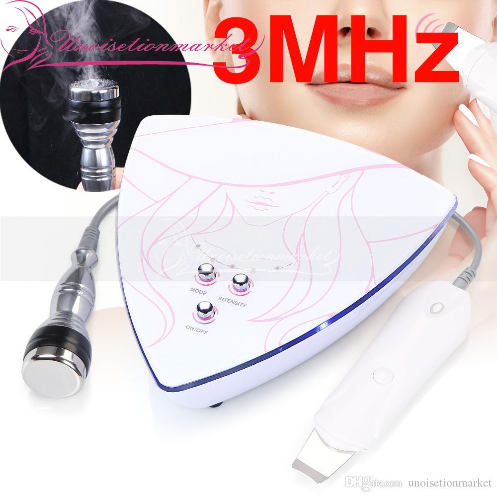 새로운 초음파 스크러버 스킨 케어 페이셜 클리너 필링 딥 클렌징 마사지 초음파 기계에 대 한 가정 사용