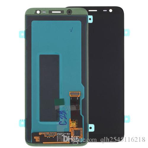 Tela lcd do telefone móvel para samsung j6 j600f display lcd de tela de toque digitador assembléia para samsung galaxy j6 2018 j600 j600g