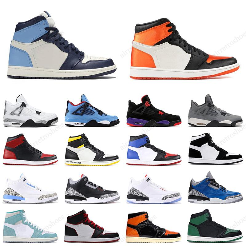Nike air jordan retro 13 12 11 4 12 9 14 10 shoes Travis scott Cactus Jack X 6 Mens Basketball shoes 11s Bred 9s Gym Red 13s Lucky Green 4s Loyal Blue 12s Game Ball Sports sneakers