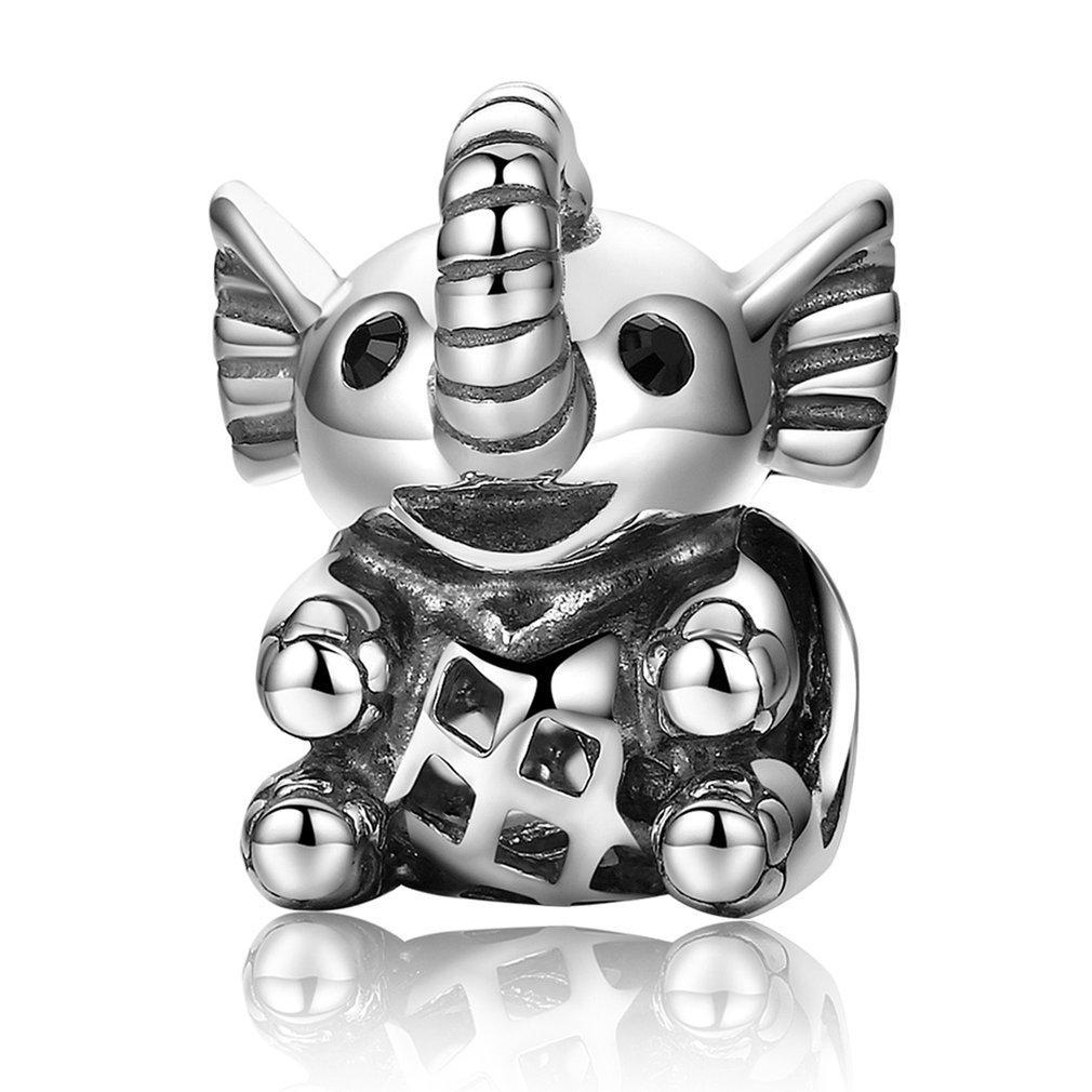 Стерлингового серебра 925 бусины прекрасный милый щенок животных Собака дизайн бусины подходят браслет DIY ювелирные изделия уникальный дизайн для подарков