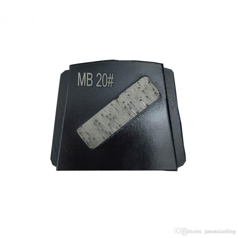 PHX Trapezoid Polishing Disc Single Bar Segment Diamond Traps Grinding Pads for PHX Floor Grinder Rough Concrete Floor Renovation 12PCS