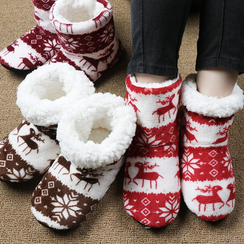 Winter Home Slippers Women House Shoes