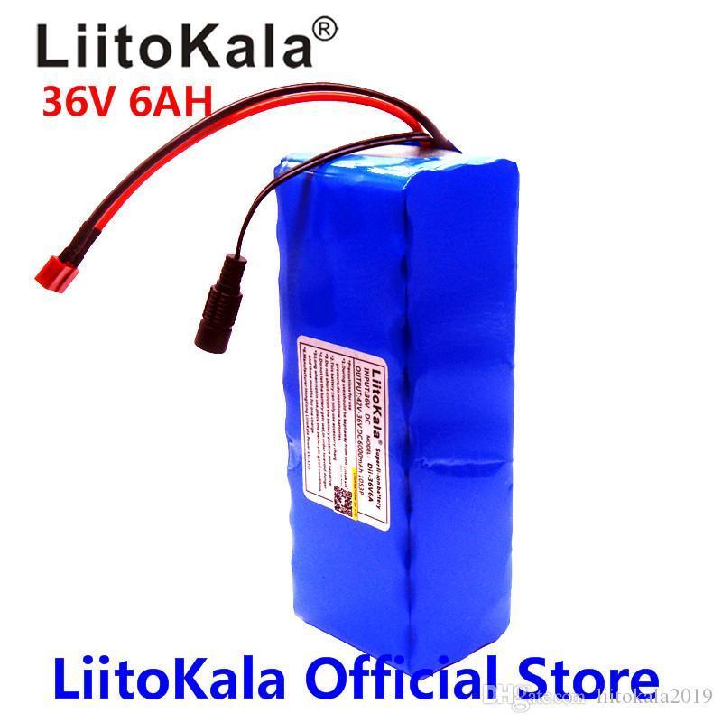 18650 Lithium-Batterie-Pack-E-Bike 36V 6AH 5AH 500W 18650 Lithium-Batterie 36V 8AH E-Bike-Batterie mit PVC-Gehäuse für elektrisches Fahrrad