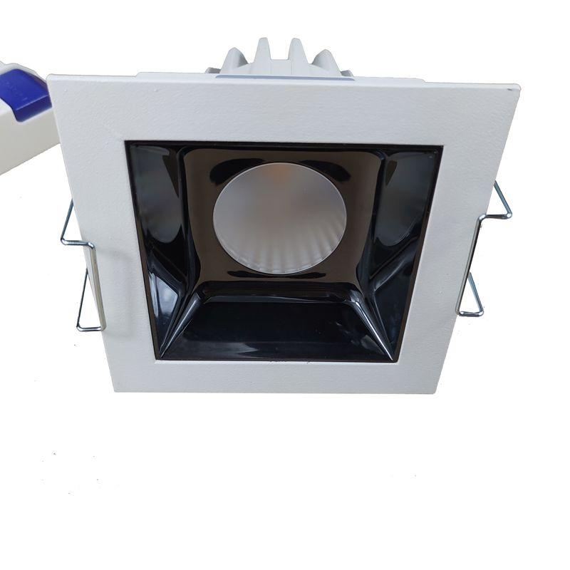 White 10w Led Recessed Lighting Square Trim Retrofit Downlight Baffle Fixture Beam 15 30 45 Led Ceiling Downlights Led Downlights For Sale From Ourwaylighting 21 81 Dhgate Com