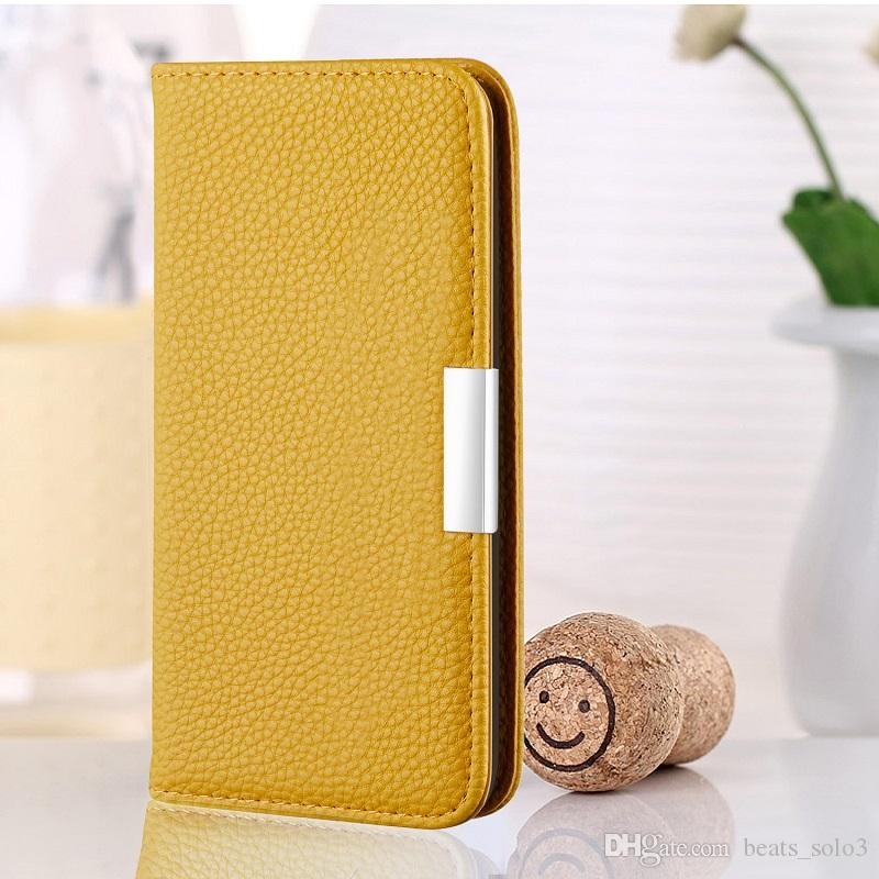 Para o novo iPhone xsmax casos de couro caso do iphone 11 de cartão de couro padrão caso lichia Moda x r caso, a proteção de novas chegadas