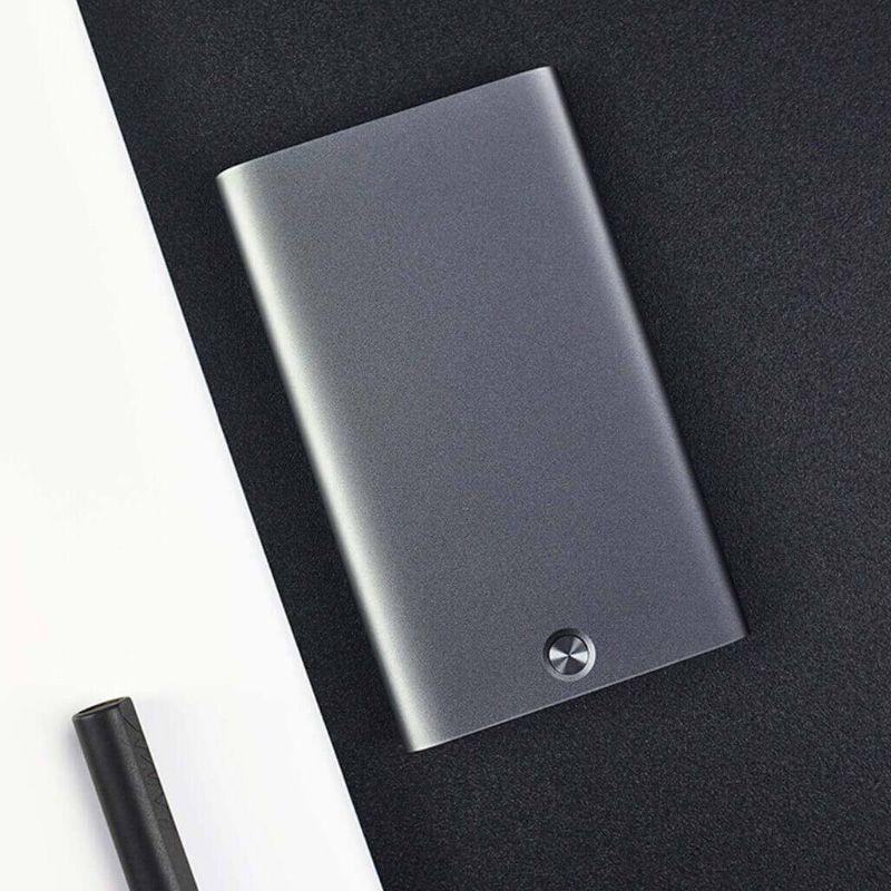 Xiaomi Youpin cartão de visita caso Automatic Pop Up Box Cover ultra fino titular do cartão do metal Carteira ID Card Box 3010016 2021