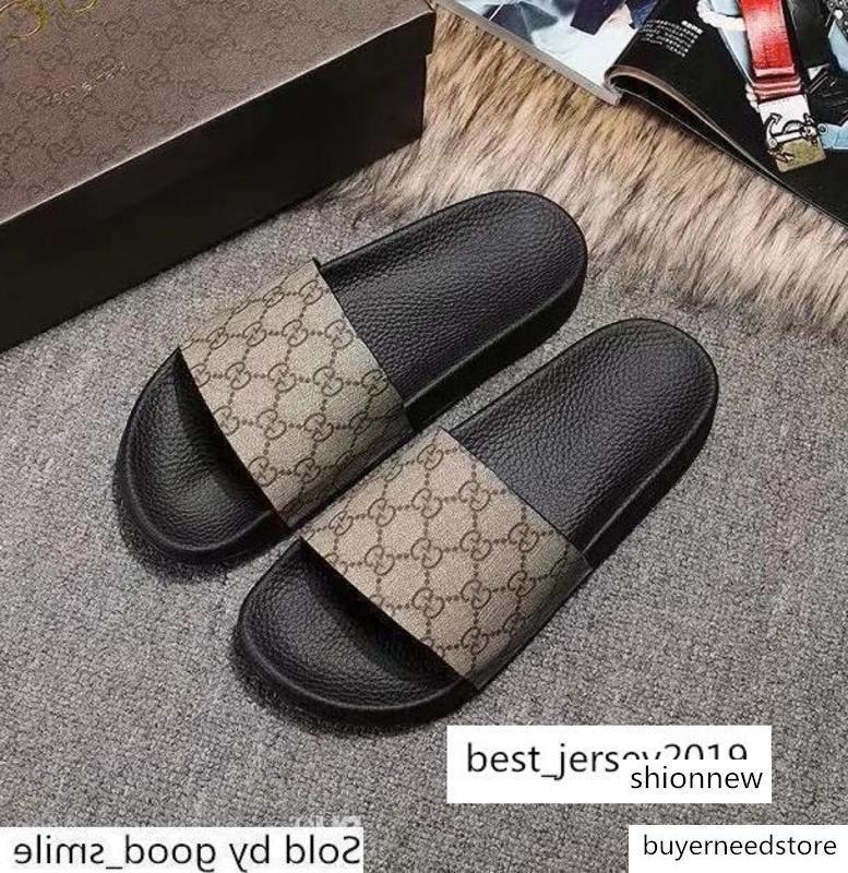 lüks Tasarımcı Erkekler Kadın ler Kauçuk Sandalet Renkli Casual G Düz Ayakkabı Flop 35-45 Kaplan Yılan Arı Kedi Terlik Deri çevirin yazdır