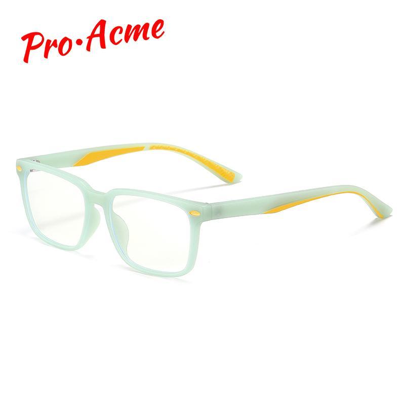 Pro Acme Дети Анти синий свет очки TR90 Гибкая Компьютерные очки Видео Игры для детей в возрасте 5-12 UV400 PC1445