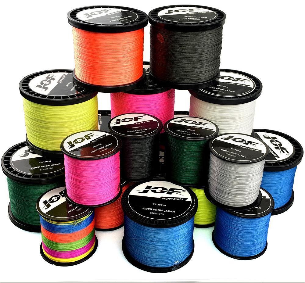 8 прядей 1000 м многоцветные плетеные рыболовные линии моря морской соленый карп рыболовные плетения экстремальные 100% PE Briadline
