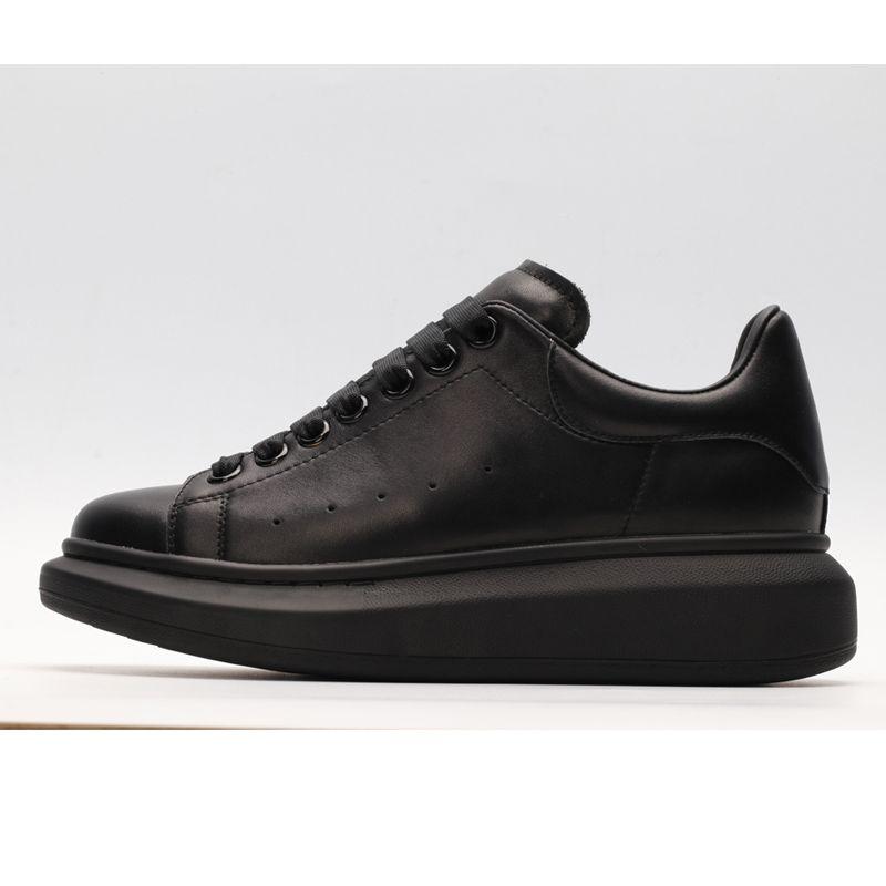 Großhandel Alexander McQueen Air Max Supreme Off White Vapormax Nike Nmd Vans Und Weiseluxusflache Beiläufige Schuh Weiß Leder Plattform Partei