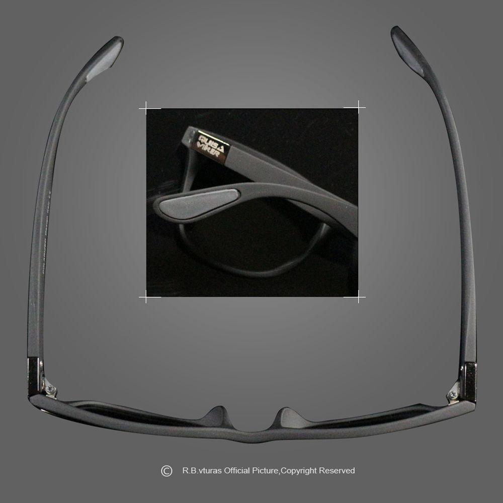Marca polarizada Gafas de sol del deporte de los hombres de las mujeres Gafas de conducción de los vidrios UV400 Sun (NO caja de papel)