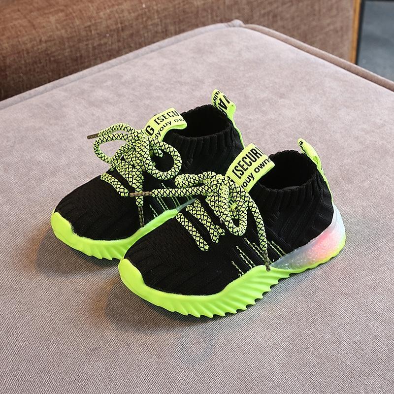 sapatos de outono 1-3-5 anos mais velhos meninas esportes Primavera e Outono Esportes sapatos 3 da criança das meninas 21