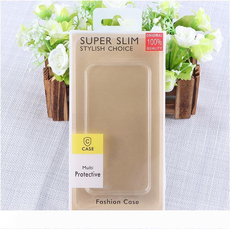 A Neutral PVC iphone packaging box for general phones iphone XS Xs Max XR mobile phone packaging new box customized mobile phone c