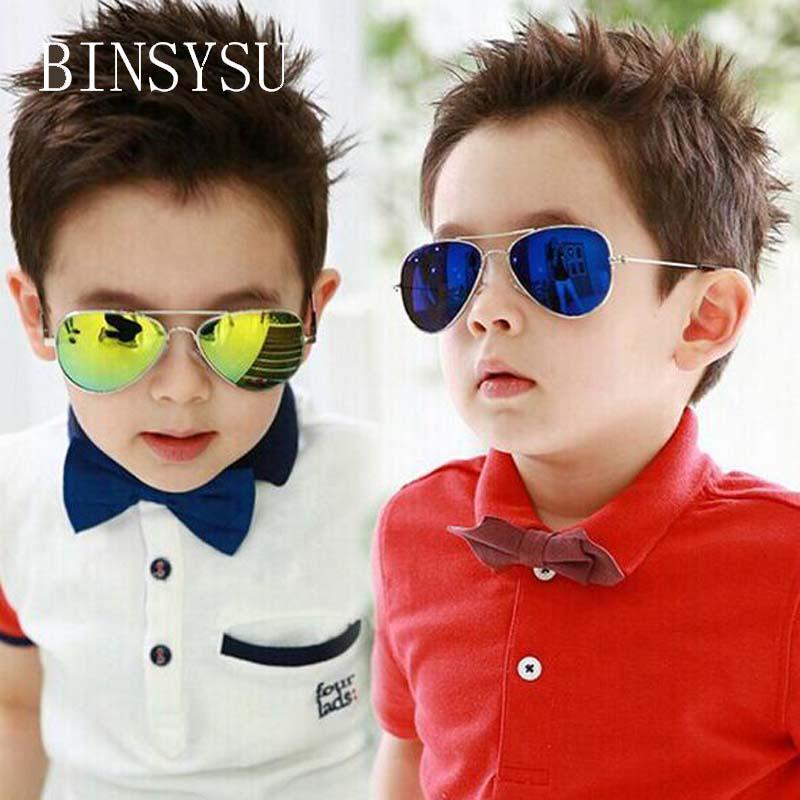 Mercury Coating Kids Sunglasses Dual Beam Children Baby Boys Girls Uv400 Protection Sun Glasses Personas Goggle Sunglasses waDTz