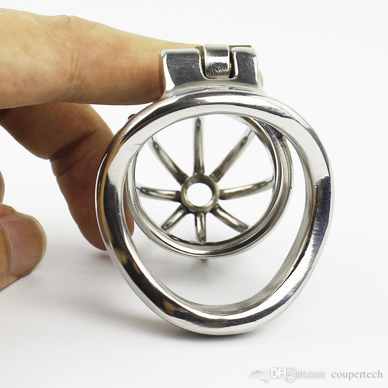 Stealth Chastity Maschio Cazzo Acciaio per dispositivo CP275Jouets Gabbia con anello in acciaio inossidabile Maschio Sexuelstoys Chastity Lock Cintura Cintura Adulti Raael