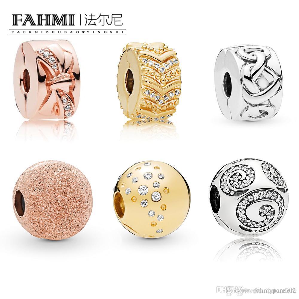 Fehmi% 100 925 Gümüş Bow Girdap Köpüklü Gül Mat Muhteşem Düğümlü HeartClip Dağınık Büyüleyici Moda Umut Duran Klipleri parlayan