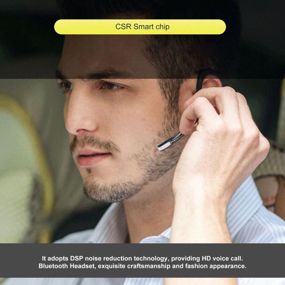V8S Business Bluetooth Headset Wireless Earphone Car Bluetooth V4.1 Phone Handsfree MIC Music for iPhone Xiaomi Samsung