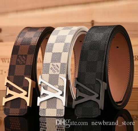 Mens Leather Tan Belt With Metal Buckle Casual Dress Men Women Kids S,M,L,XL