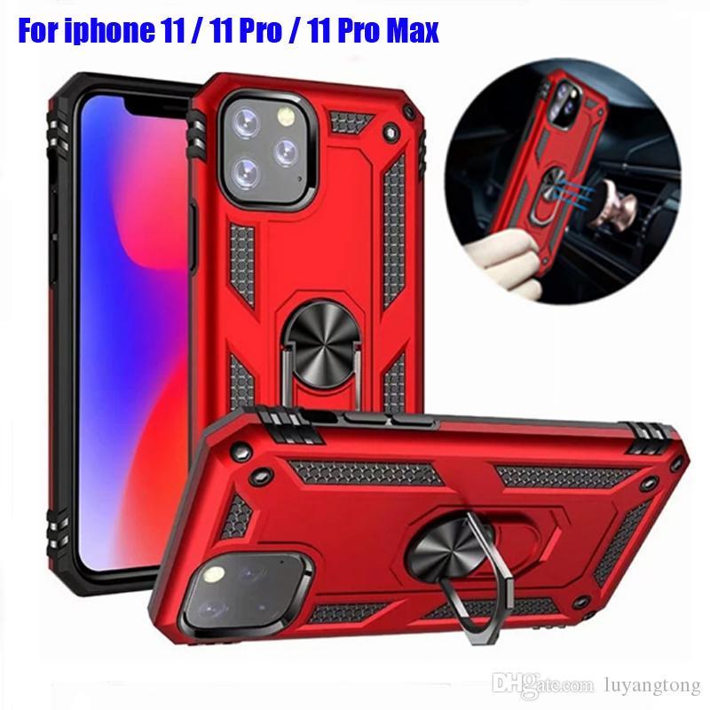 Pour iphone 11 complet couvre hybride cas d'armure pour iphone 11 pro max dur cas de téléphone portable cas iphone11 pro coque