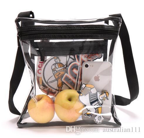 Limpar Crossbody Purse Bag para esportes de Man aprovadas clara Shoulder Tote Bag. Estádio Aprovado para Eventos Esportivos