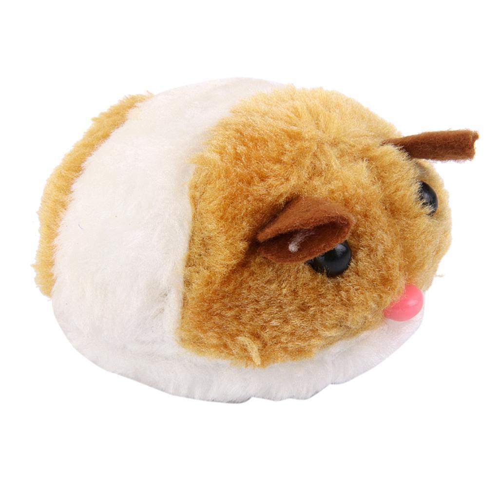 Squeaker Çalma Peluş Titreşim Sevimli Fat Fare Pet Kedi Oyuncak Chasing Eğlence