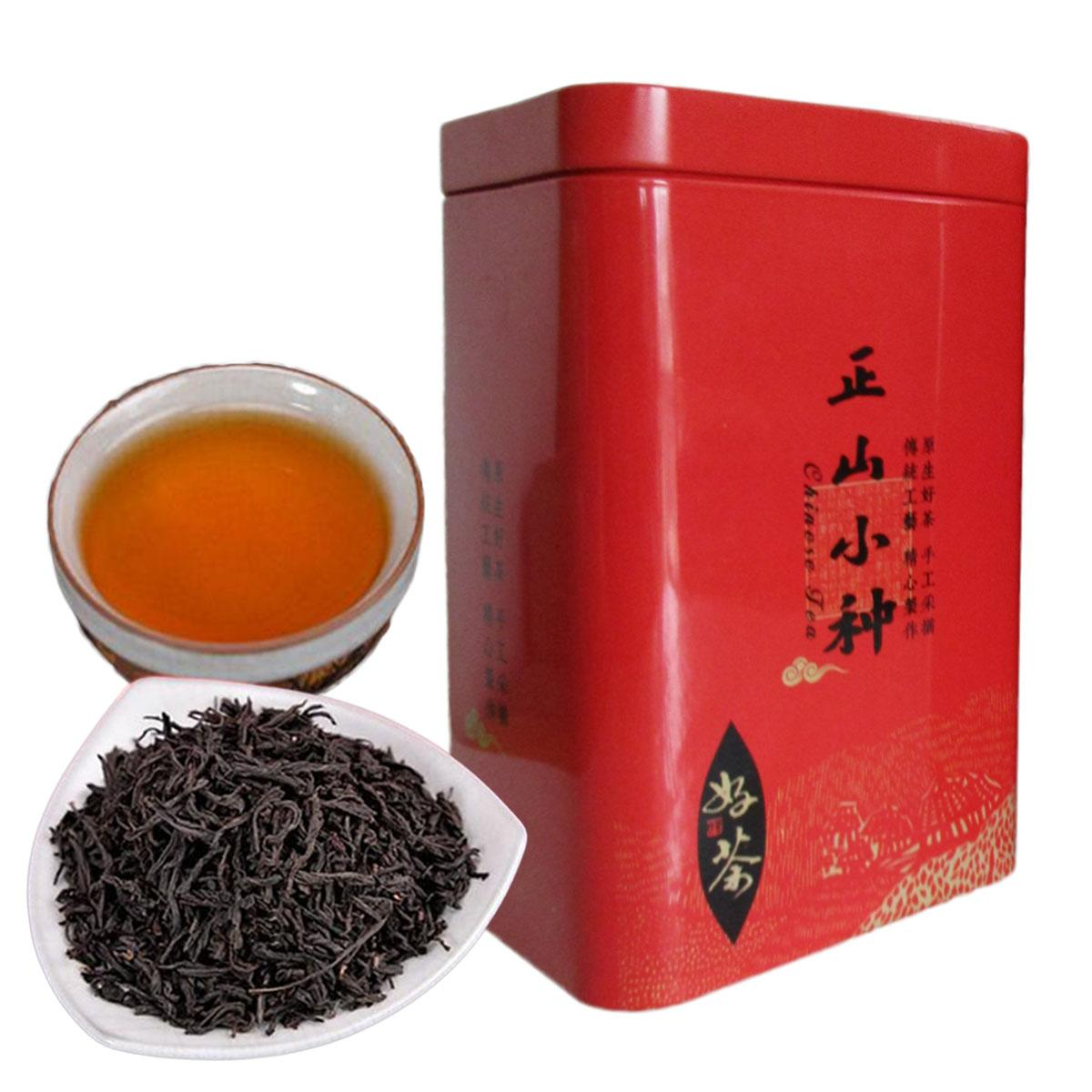 Net Weight 100g Chinese Organic Black Tea Lapsang Souchong Superior Oolong Tea Health Care New Cooked Tea Gift Package Green Food Promotion