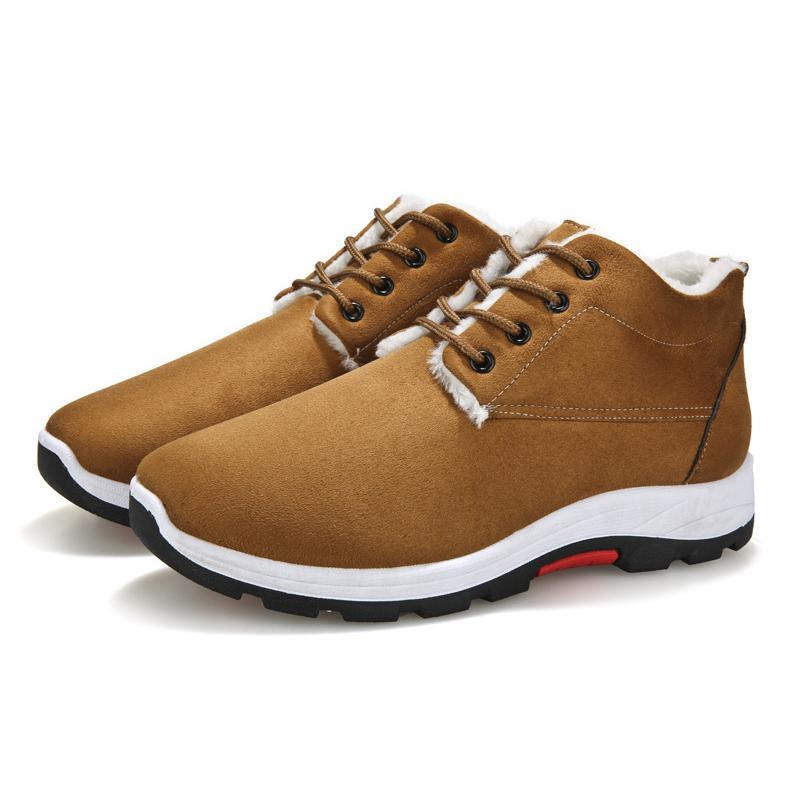 Belle New Hommes Chaussures de base BootsMen Automne Hiver Mode Bottes Hommes Casual Vogue cheville Botas Classique Bottes Zapatos De Hombre