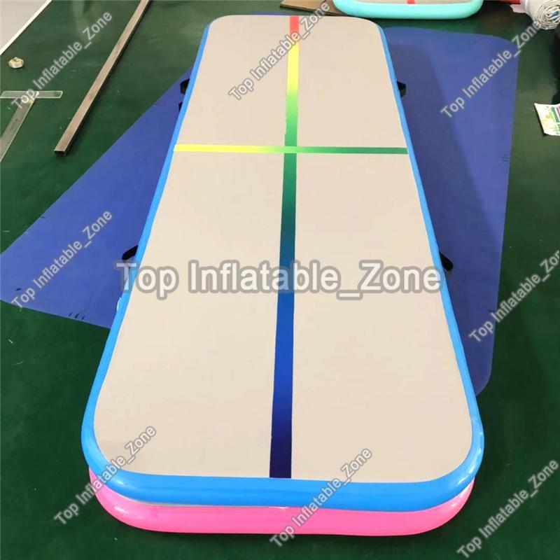 La piattaforma libera di trasporto libero della pompa libera di caduta opaca / aria / tappetino dell'aria / pista dell'aria per vendita la stuoia della pista di aria di prezzi di fabbrica di 3m per la palestra