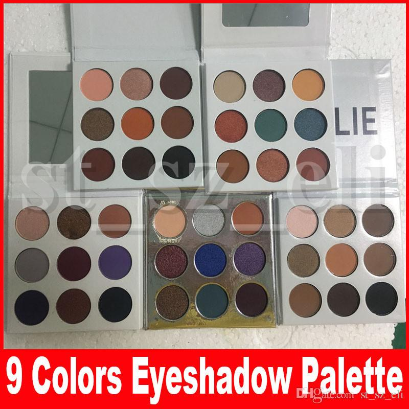 Fall Collection eyeshadow eye shadow Pressed Powder Eye shadow Palette Bronze Burgundy holiday purple blue honey eye Makeup 9 Colors