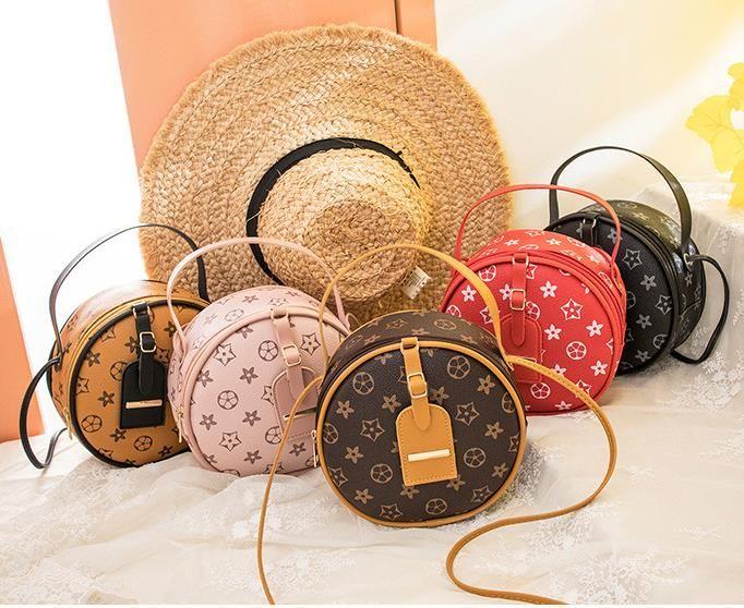 Çanta Kadın 2020 Yeni Kadın Trend Yuvarlak Kek Çanta Yabani Omuz Messenger Çanta Küçük Çanta