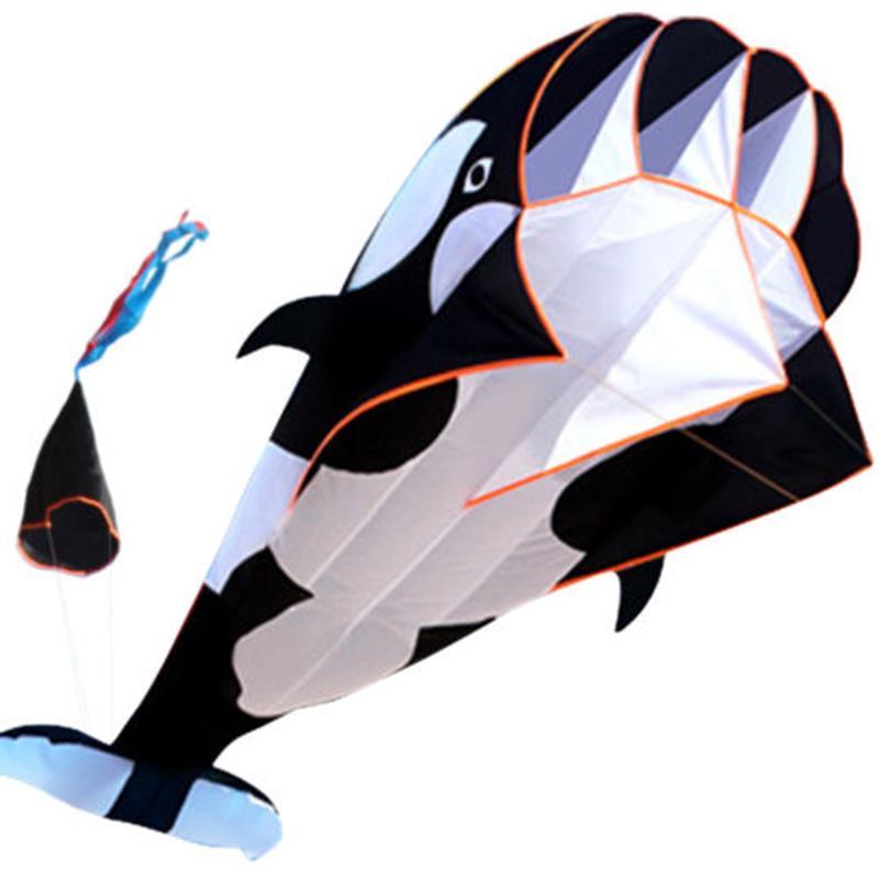 3D Кит стиль Кайт одной линии большой летающий змей дети открытый игрушка Кайт