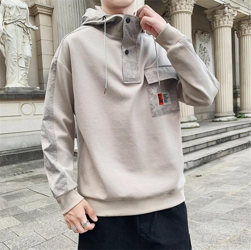 Sweatshirts Mens Designer Pullover beiläufig plus Größen Langarm Pullover Tops Mode Teenager Männer Luxus mit Kapuze