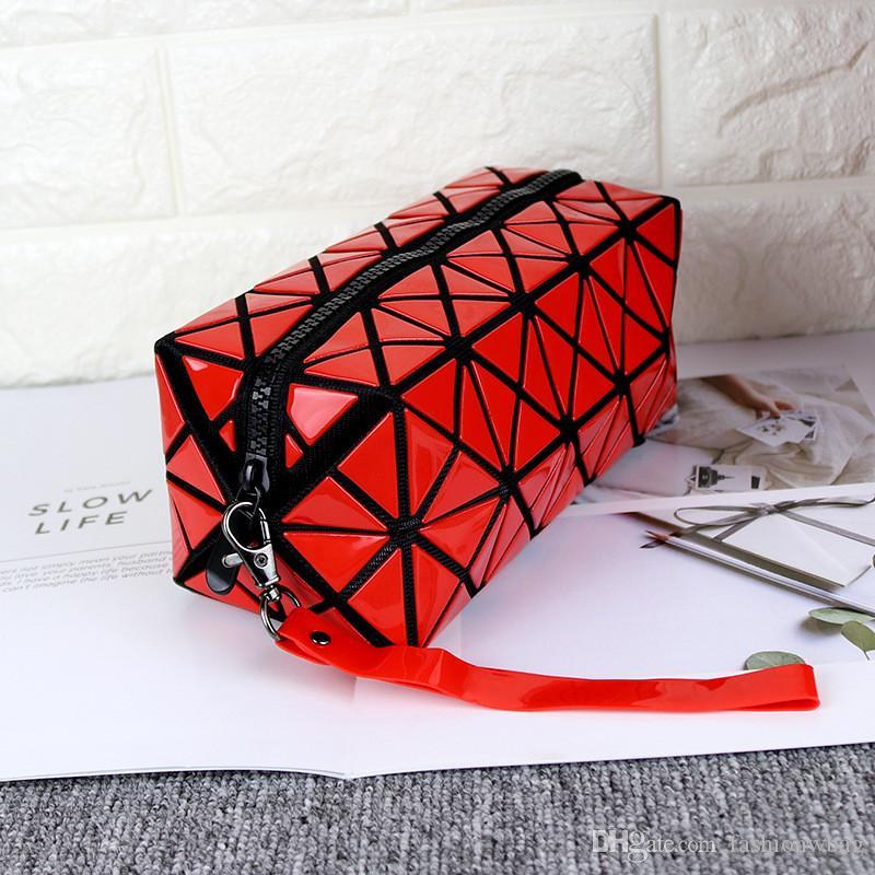 2019 же макияж сумка мило корейской версии небольшой квадратный мешок мультфильм складной простой многофункциональный свежий портативный клатч