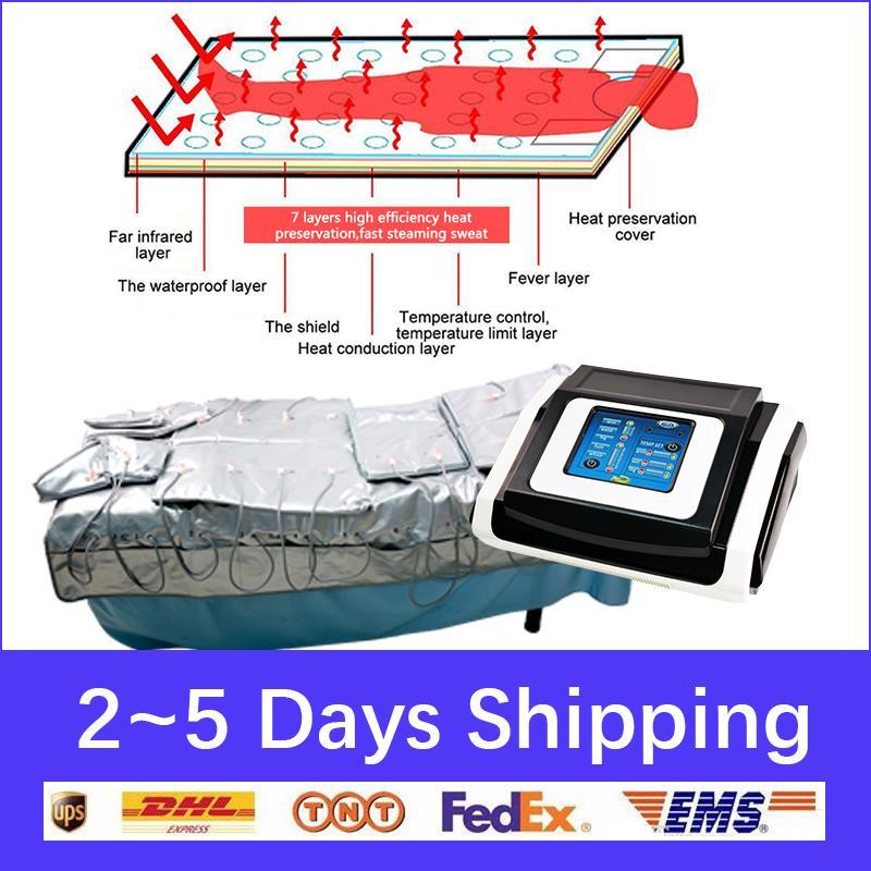 가열 3 IN1 핫 세일 EMS 원적외선 림프 배수 프레소 기계 전신 마사지