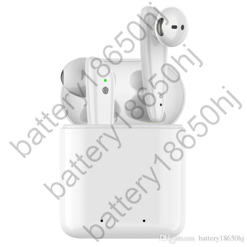 Pencere pk AP2 i19s i12 I100 i200 i7 TWS açılır ile Nesil 2 Bluetooth Kulaklık oto soyma Kulaklıklarını Şarj H1 çip Kablosuz