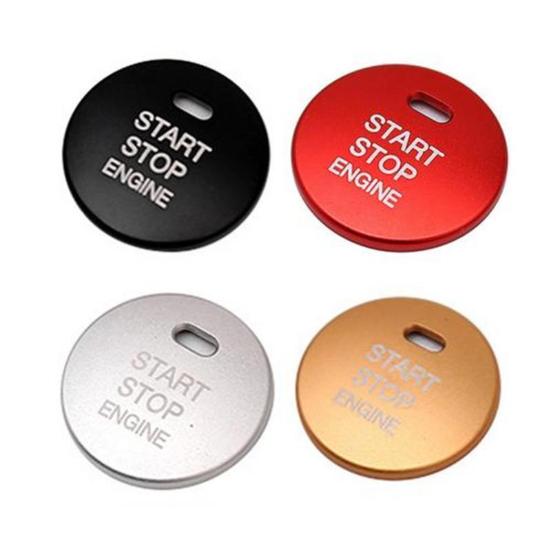 Un bouton de démarrage Décor couverture Bouton moteur Remettre le couvercle ARRÊT Accessoires clé pour 3 BM BN 6 GJ1 GL CX4 CX4 CX-5 10Pack