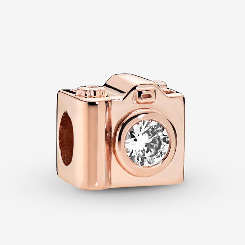 charm pandora oro rosa originali