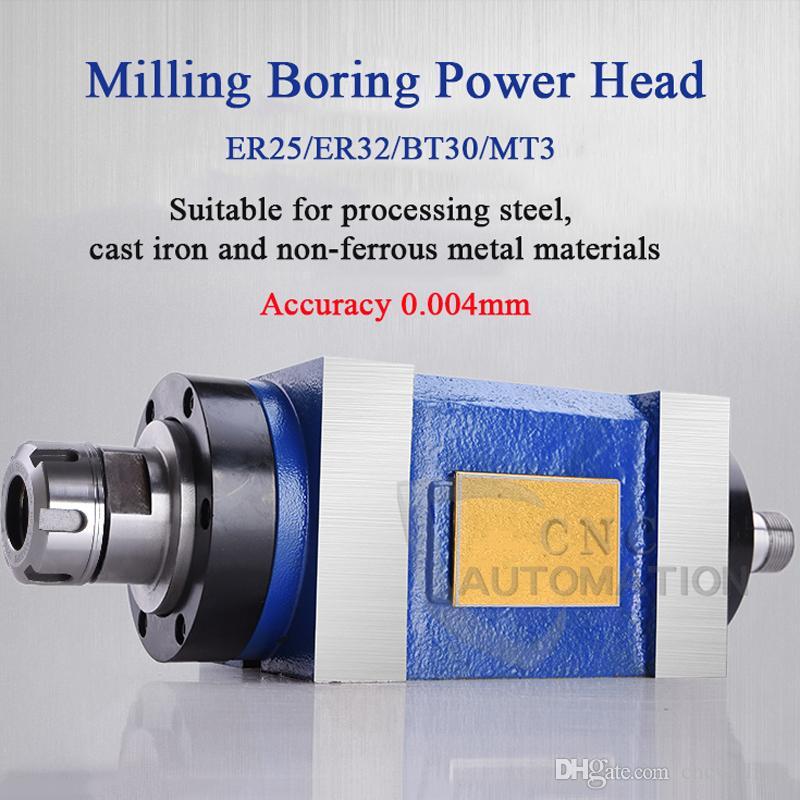 Ferramência de perfuração de fresamento de perfuração da máquina de perfuração do fuso da ferramenta do fuso da ferramenta do CNC da máquina de perfuração BT30 / MT3 / ER25 / ER32