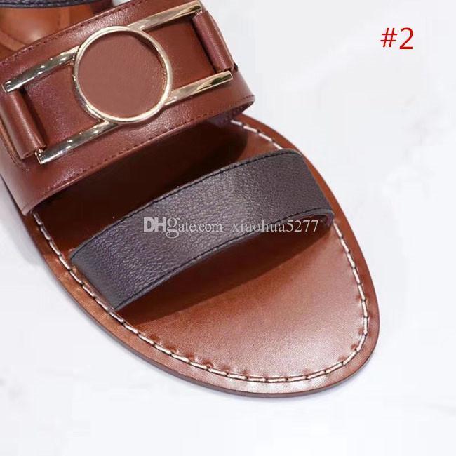 Модная и высококачественная летняя пляжная Повседневная обувь с принтом кожаная женская высококлассная сандалия Nomad поразительный гладиаторский стиль кожаная подошва Per