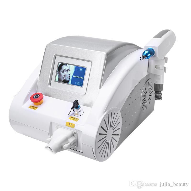 2019 Nd YAG 1064nm 532nm 1320nm eliminación / tatuaje / ND YAG para eliminar pigmento, máquina de blanqueamiento facial