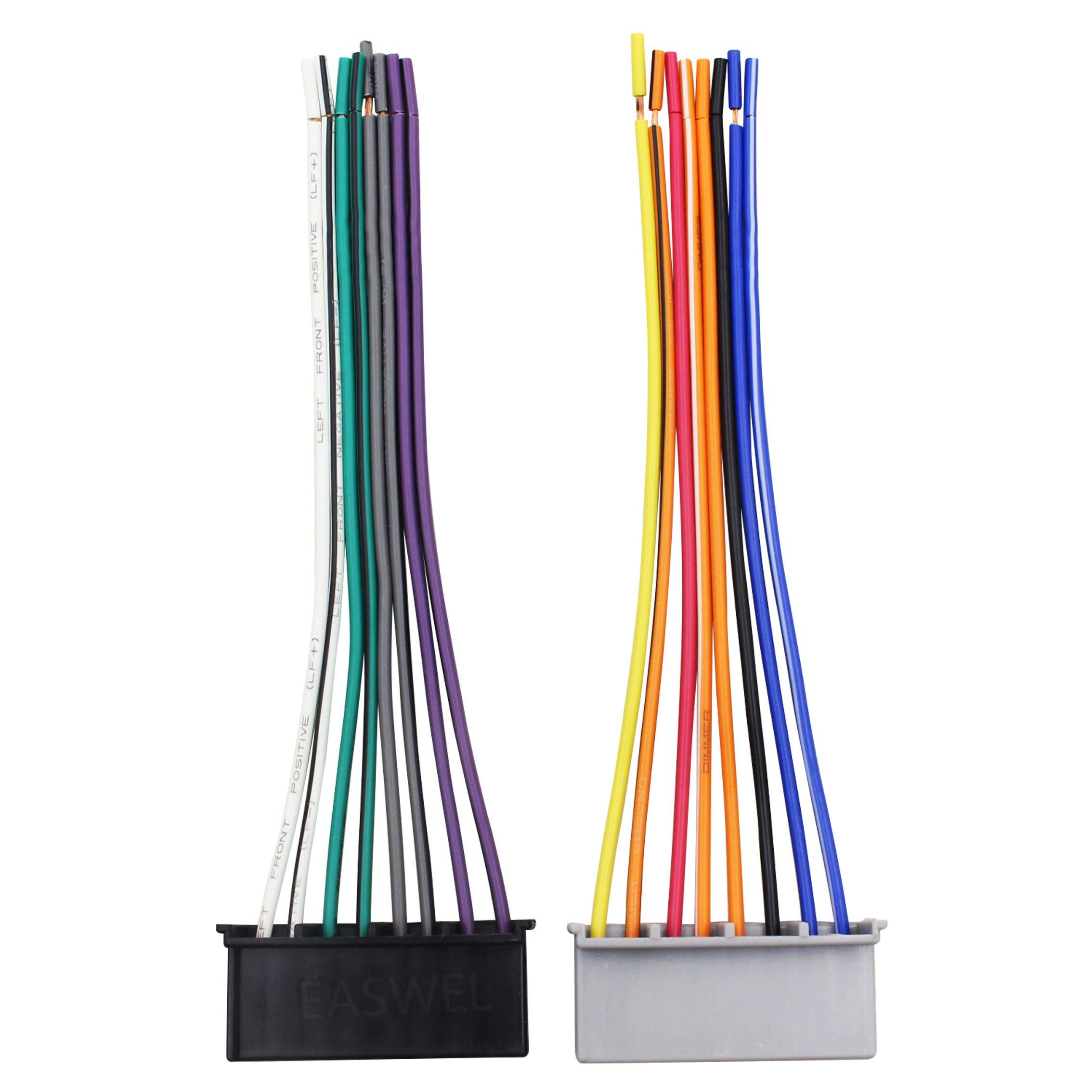 Faisceau de câbles à Réinstaller usine Ford Mercury Radio pour Mazda Nissan