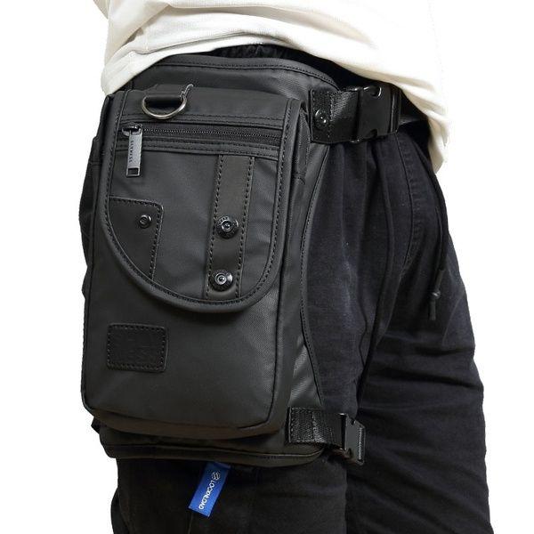 الرجال الأزياء عالية الجودة للماء أكسفورد العسكرية الساق قطرة حقيبة فاني حزمة النارية رايدر سفر الخصر الساق حقائب جديد