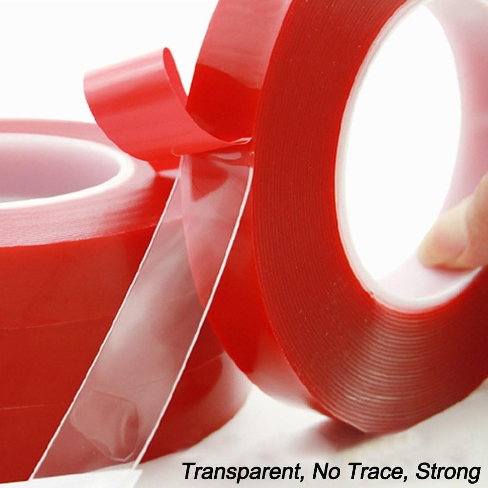3m Transparent Nano Tape Double Sided Tapes Reusable Washable Traceless Gel Grip Adhesive Stickers