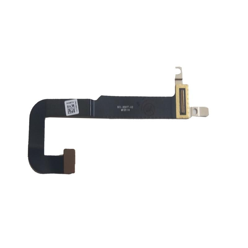 Free Shipping!!! 1PC New Original Laptop DC Jack Cable For MacBook A1534 821-00077-A 2015 in black
