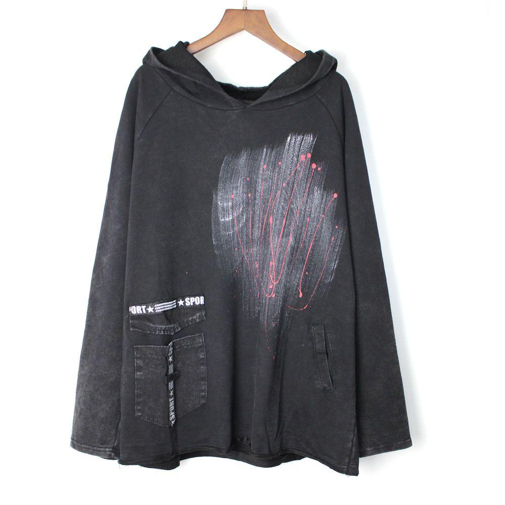 Fashion Vintage Art Harajuku pollover hoodie Sweatshirt women sudadera mujer streetwear fleece korean seventeen Loose plus size