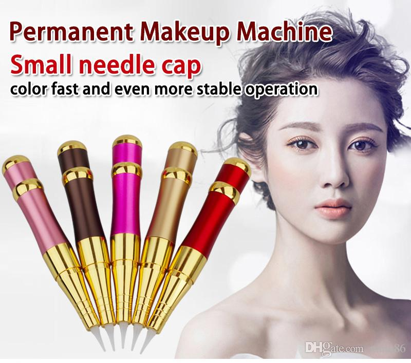 2019 Hot Sale New Import Motor Permanent Makeup Eyebrow Rotary Tattoo Machine Electric Microblading Pen Kit For 3D Eyebrow Lip Eyeliner
